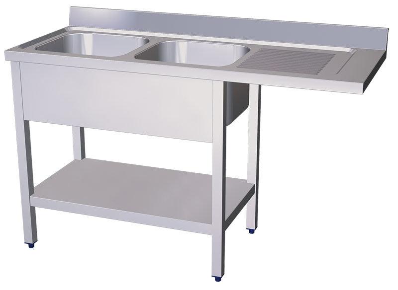 Fregaderos para lavavasos y lavaplatos fabricados en acero - Escurridor para fregadero ...
