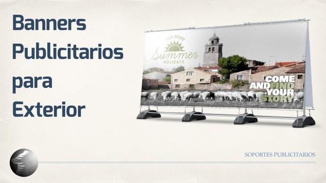 Banners Publicitarios para Exterior