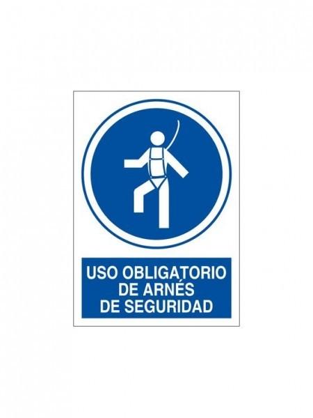 Uso Obligatorio de Arnés de Seguridad