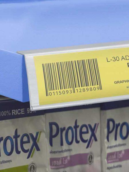 Perfil Etiquetero Porta Precio Adhesivo L-30 (25 unidades)