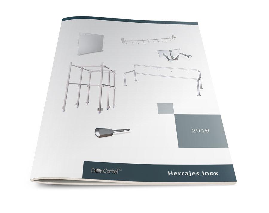 Herrajes Inox Catálogo 2016 portada