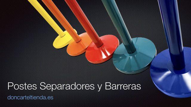 Postes Separadores y Barreras