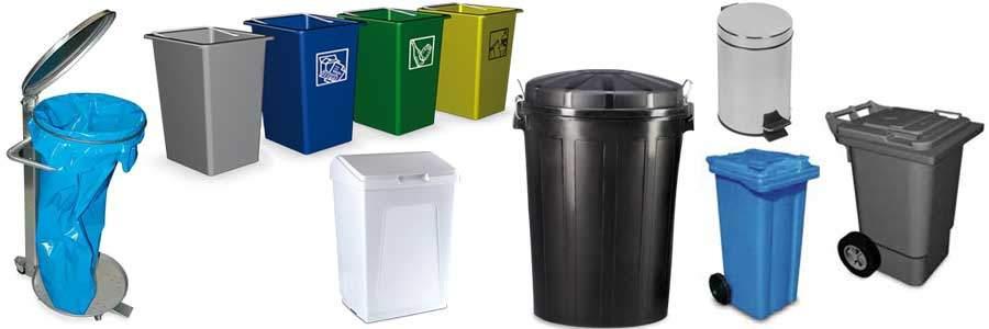 Cubos de basura great lgal acero inoxidable plstico de for Papelera reciclaje ikea