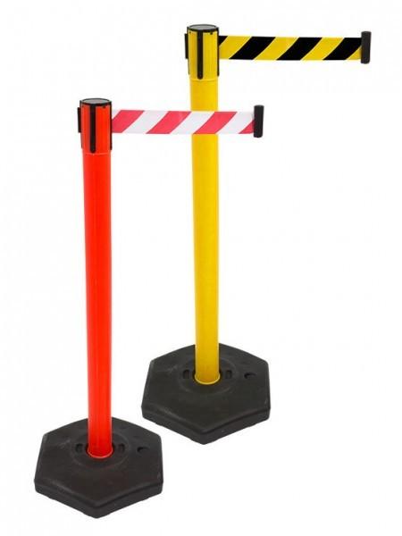 Poste Separador Emergencia con Base Rellenable