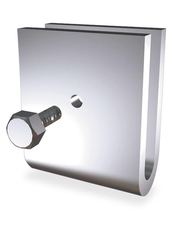 U sencilla para pletina fabricada en acero inoxidable - Pletina de acero ...