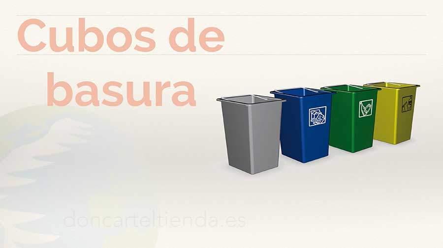 Portamenus baratos y originales de madera metacrilato para exteriores - Cubos de basura originales ...