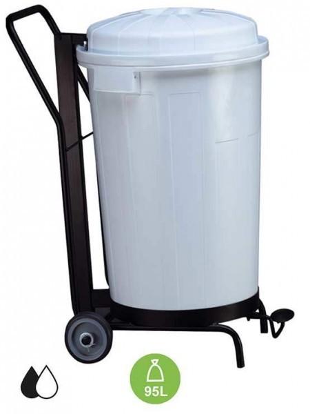 Cubos de basura y contenedores de desperdicios o reciclaje - Cubos de basura industriales ...