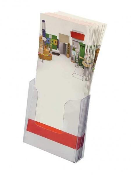 Dispensadores de folletos PVC económicos (30 unidades)
