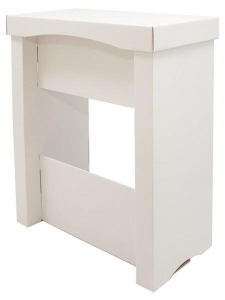 Mostrador mesa de cartón
