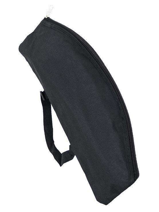 0c237b869 Bolsa para focos roll up hecha de nylon negro y con cremallera
