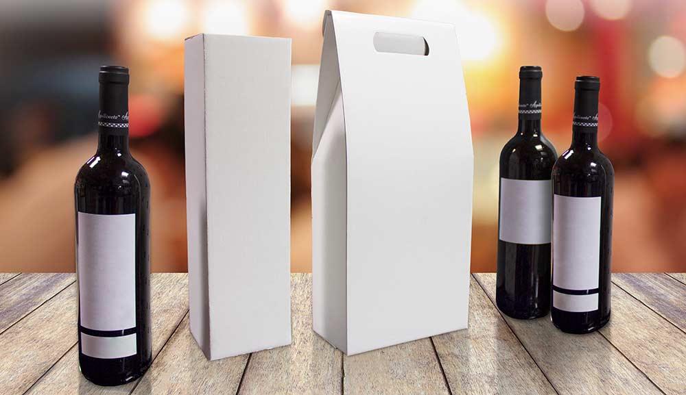 Cajas para botellas ejemplos