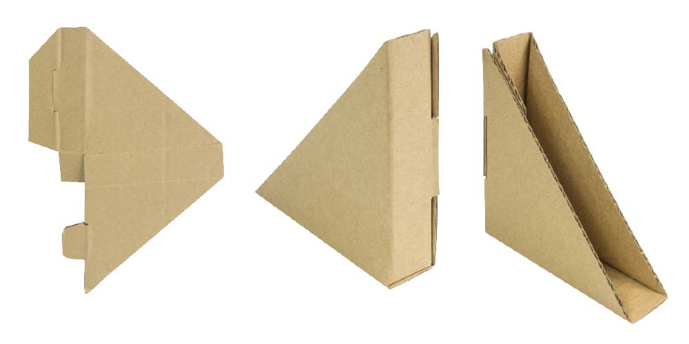 Cantoneras de cartón detalle