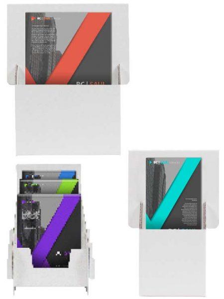 Dispensador de folletos (10 unidades)