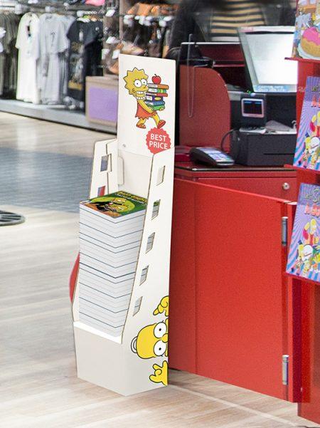 Expositor cartón para catálogos (2 unidades)