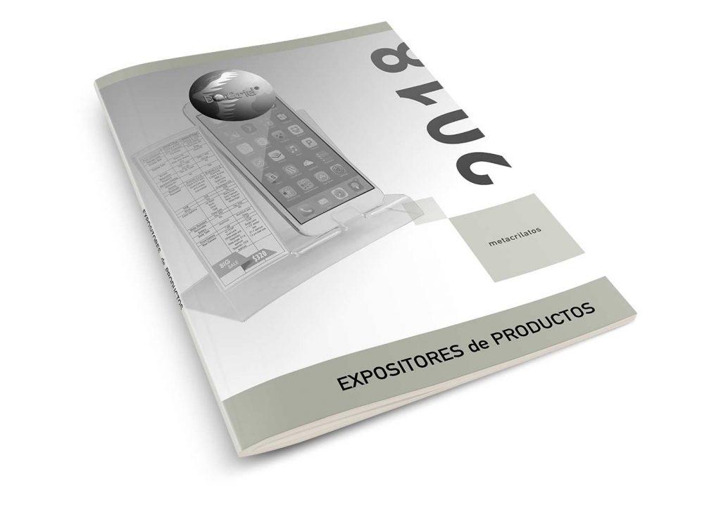 expositores de productos catálogo 2018