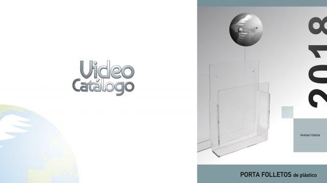 Portafolletos de plástico videocatálogo 2018