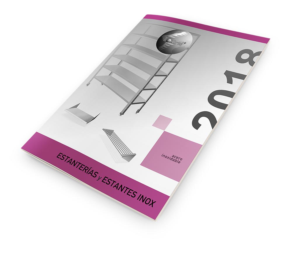 Estanterías y Estantes Inox Catálogo 2018