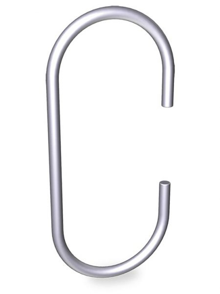 Gancho de varilla C (20 unidades)