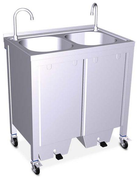 Lavamanos Portátil Autónomo Grande