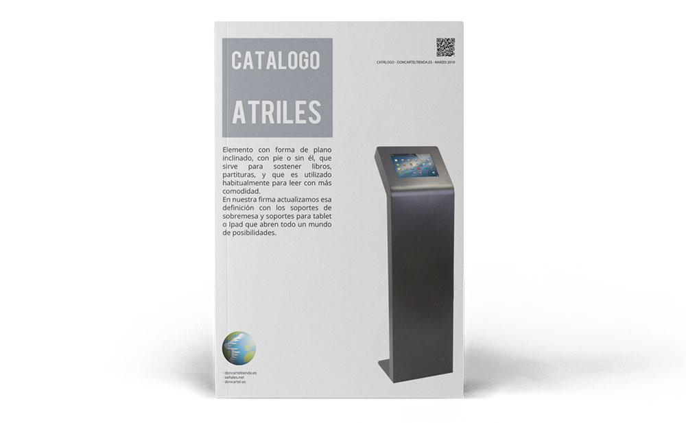 Atriles catálogo 2019