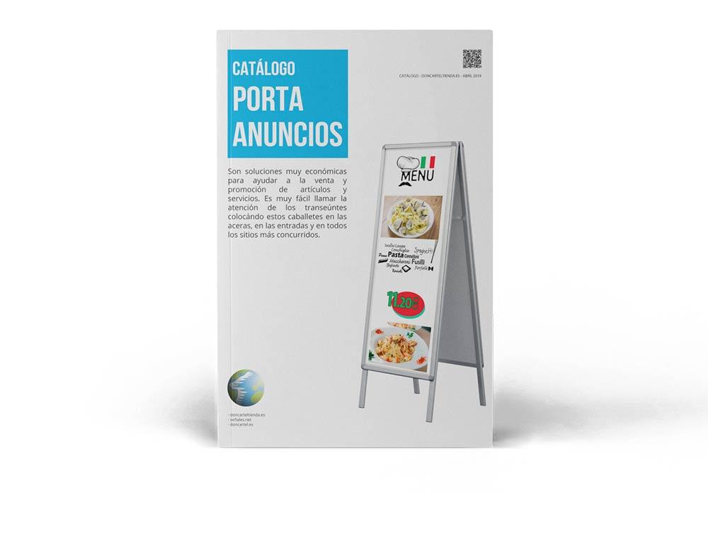 Porta anuncios catálogo 2019