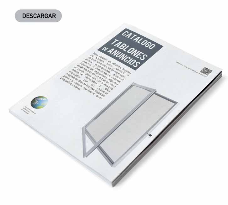 descargar catálogo tablones de anuncios 2019