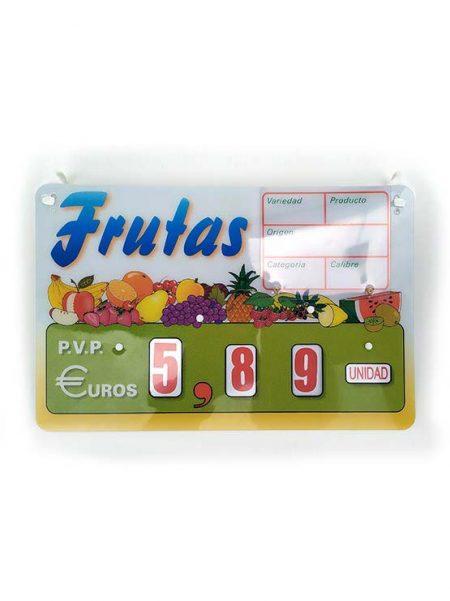 Cartel Fruta Canada Ganchos