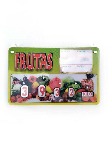 Cartel Fruta con Ganchos modelo París