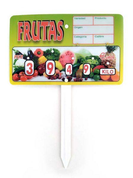 Cartel Fruta París Paleta